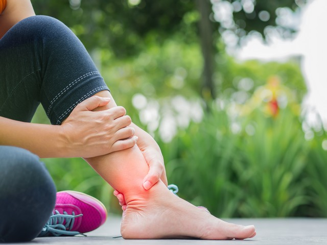 ankle pain Ashfield